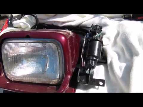 Cheap Corvette C4 Headlight Motor Knocking Easy Repair Fix Less