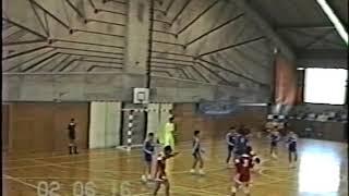 1990年(平成2年)北信越ハンドボール大会 高岡向陵-金沢市立工業(前半)