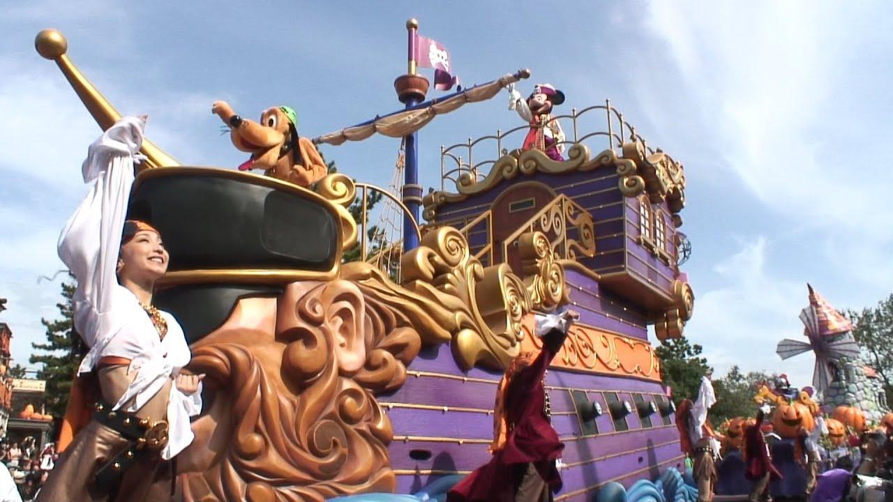 """2006年09月24日 tdl ディズニー・ハロウィーン・パレード""""スクリーム"""