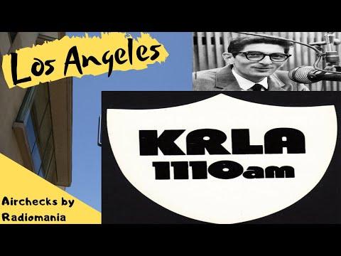 """KRLA 1110 Pasadena Los Angeles  Dick Biondi  June 14th 1965  """"Manufactured"""" aircheck."""