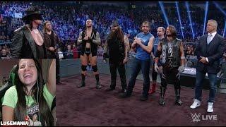 WWE Smackdown 11/15/16 THE UNDERTAKER IS BACK!