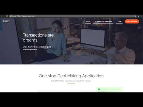 The World's Fastest Investor Introduction Platform