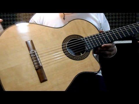 Guitarra Alpujarra 86 Kec - Test por Jesús Amaya...