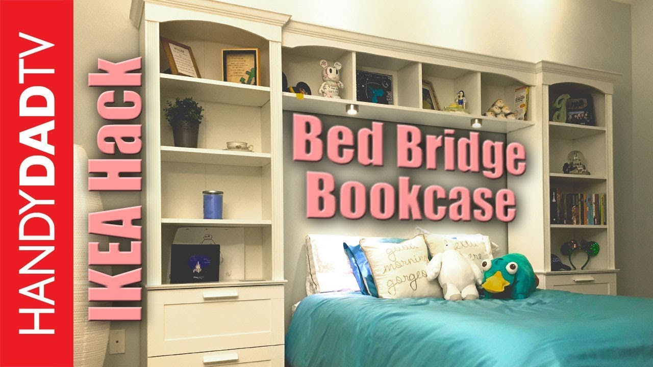 Ikea Expedit Ovet Ikea Hack Bed Bridge Bookcase