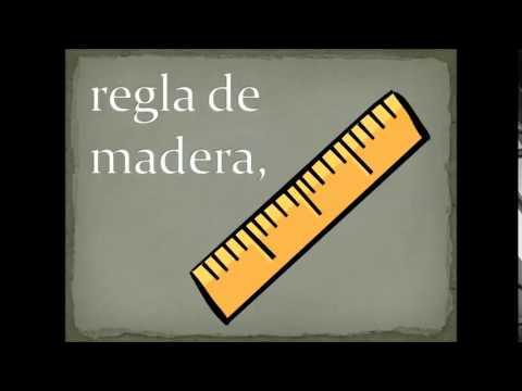 En mi mochila roja (Spanish Classroom Objects)