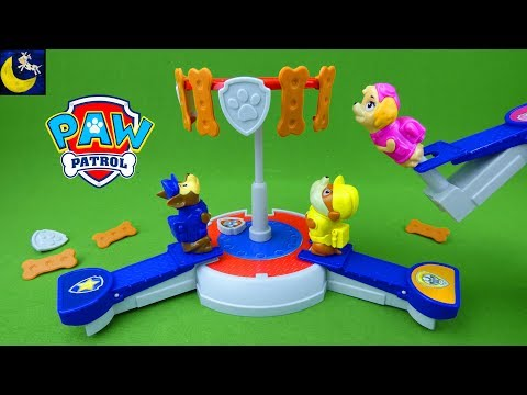 Paw Patrol Games and Toys Pups In Training Rubble Chase and Skye Fun Game Video for Toddlers Kids