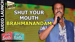 Shut Your Mouth : Mohan Babu to Brahmanandam at...