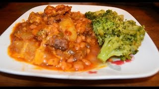 Recipe For Shipwreck Casserole - A One Dish Ground Chuck / Hamburger Entree