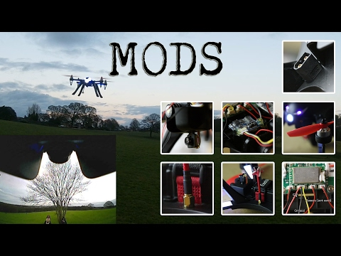 MJX Bugs 3 - FPV, Lipo And LED Mods - 3s Lipo And 6045BN Tests - Los And FPV (Jello Free)