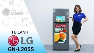 Tủ lạnh LG 187 lít GN-L205S - Nhỏ gọn hiện đại mạnh mẽ | Điện máy XANH