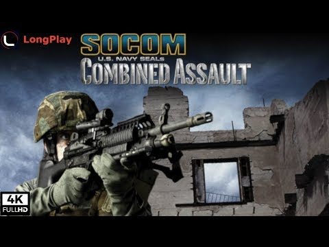 SOCOM: U.S. Navy SEALs Combined Assault - LongPlay [4K:60fps]