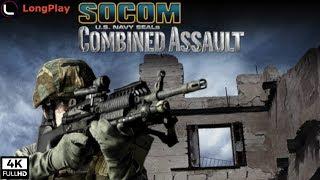 SOCOM: U.S. Navy SEALs Combined Assault - LongPlay [4K:60fps]