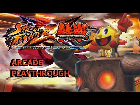 Street Fighter X Tekken Pac-Man Arcade Play Through