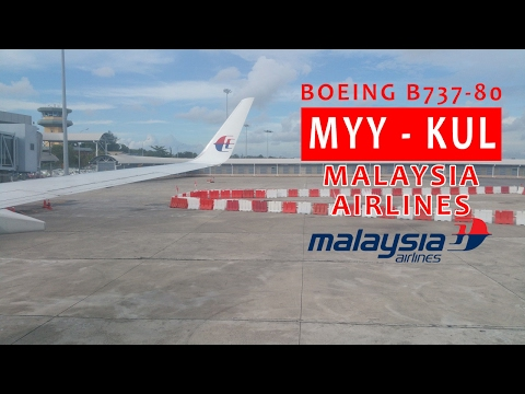 Malaysia Airlines MH2593: Miri MYY ✈ KL Int