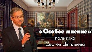 Особое мнение // Сергей Цыпляев / 16-04-19