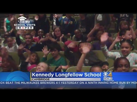 WBZ-TV Weather School Visits:Kennedy Longfellow School in Cambridge, MA