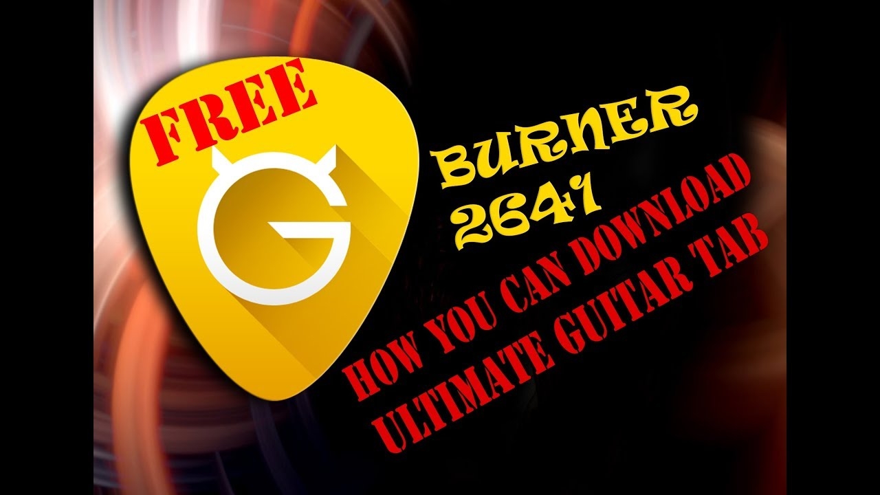 Ultimate Guitar Tab Pro Apk Is Here Youtube