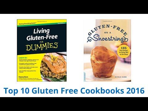 10 Best Gluten Free Cookbooks 2016