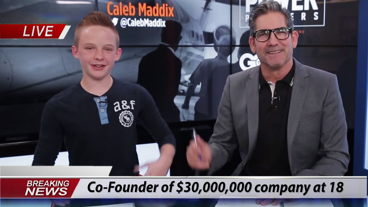 Co-Founder Of A $30,000,000 Education Company At 18 Years Old | Caleb Maddix