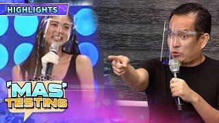 Alex Calleja gets upset with Kim Chiu | It's Showtime Mas Testing