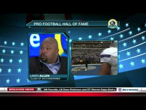 Larry Allen on Jerry Jones and his style of play (2013 NFL of Fame Show)