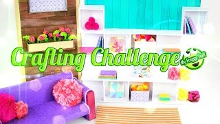 DIY - eeBoo Craft Challenge:  How to Make a Doll Room - Doll Crafts