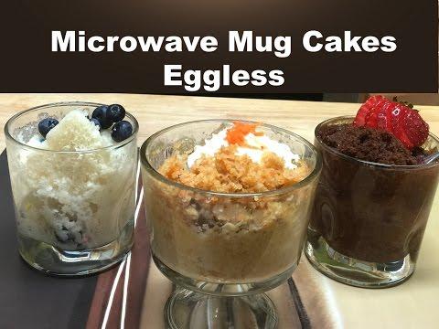 How To Make Eggless Mug Cakes 2 Minute Microwave Mug