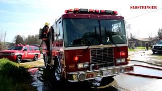 2nd Alarm Structure Fire - Santa Margarita March 17, 2017