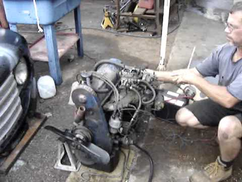 Ford 1600 Starter Wiring Diagram 1971 Ford 2 0 Pinto Engine Youtube