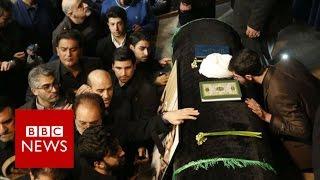 Iran Rafsanjani death  Huge crowds at ex president's funeral   BBC News