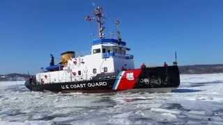 Aboard the U.S. Coast Guard Cutter Thunder Bay
