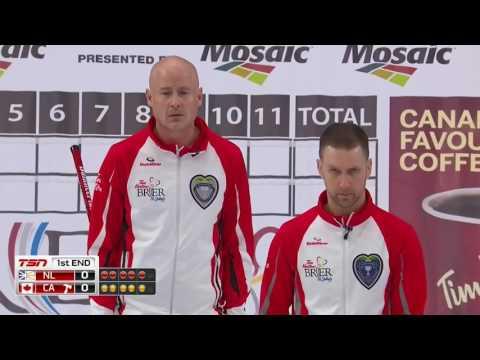2017 Tim Hortons Brier - Gushue (NL) vs. Koe (CAN) - Draw 16