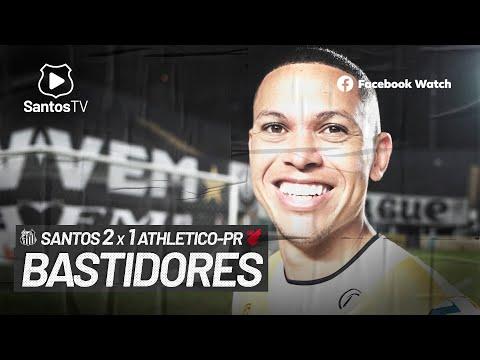 SANTOS 2 X 1 ATHLETICO-PR | BASTIDORES | BRASILEIRÃO (06/07/21)