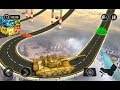 Impossible Army Tank Driving Simulator Tracks / Army Training Game / Android Gameplay Video