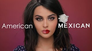 American VS Mexican Makeup Tutorial