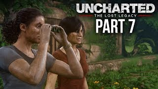 UNCHARTED THE LOST LEGACY Gameplay Walkthrough Part 7 - THE GATEKEEPER (Chapter 6)