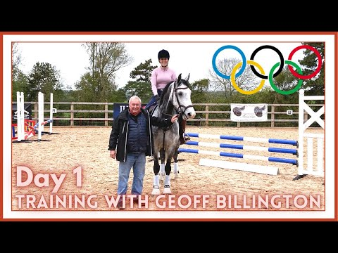 🏆TRAINING WITH OLYMPIC SHOWJUMPER: GEOFF BILLINGTON - DAY 1 | Riding With Charlotte