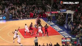 Langston Galloway Trio of Clutch Three Pointers for the Knicks!