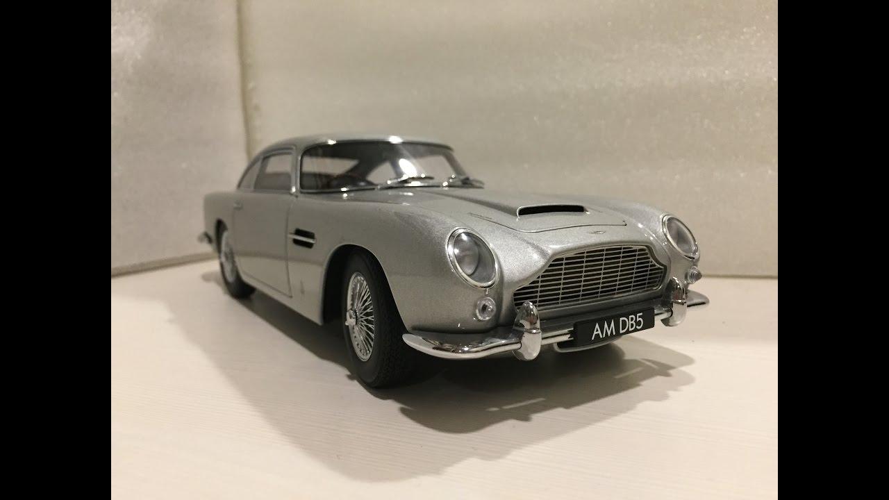 1 18 Autoart Aston Martin Db5 Youtube