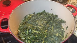 Heathier Turnip Greens Recipe