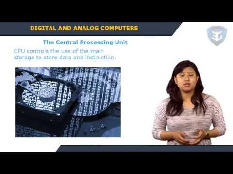 Digital and Analog Computers