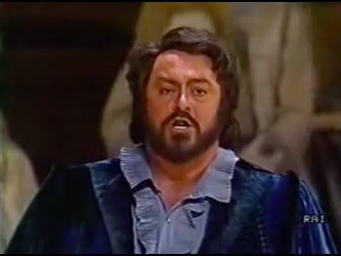 Verdi: Un Ballo in maschera. Abbado - Pavarotti. Vienna 1986. Part 1 of 3.