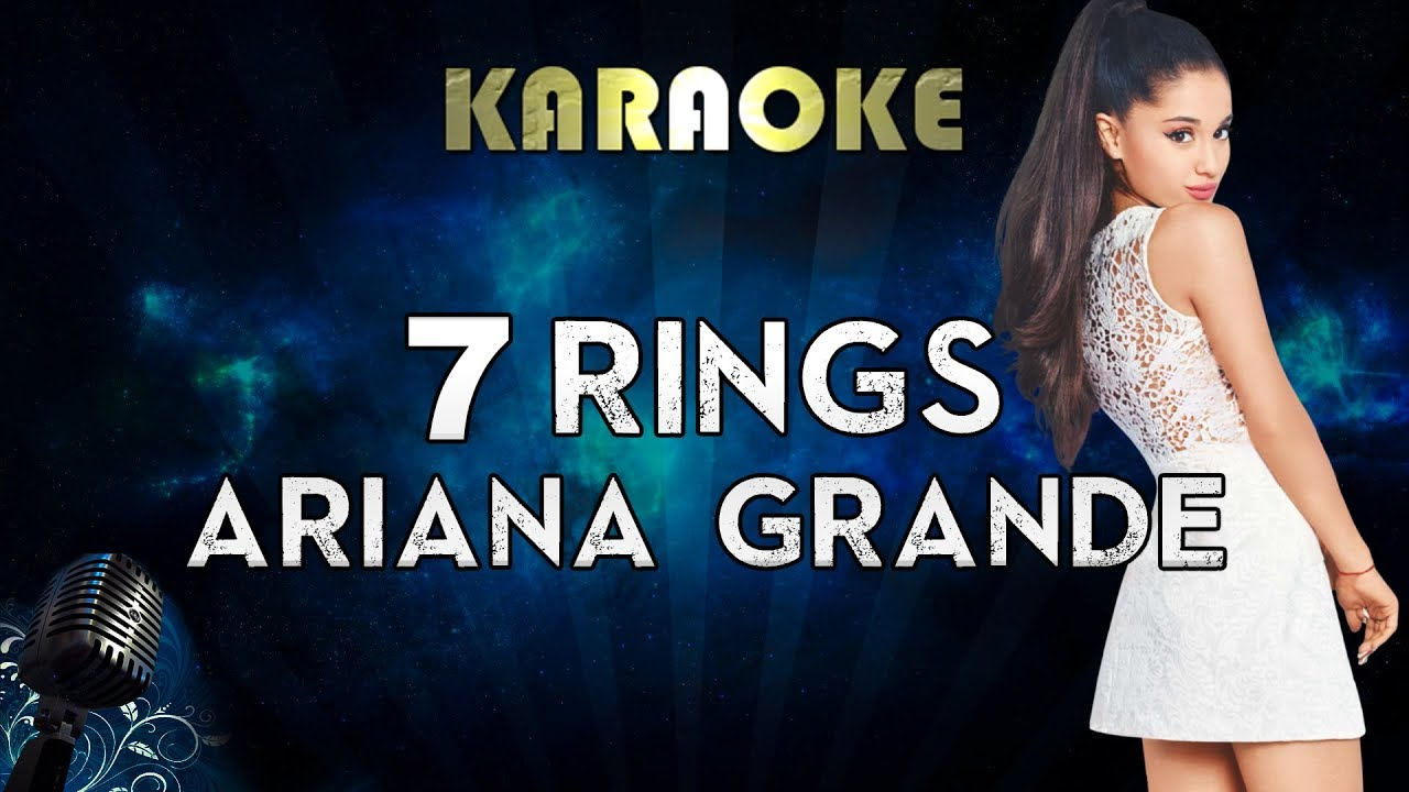 Download Ariana Grande - 7 rings (Karaoke Instrumental)