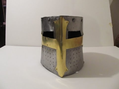 Make a Medieval Great Helm Part 2