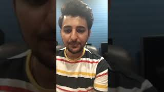 Darshan Raval / Live Chat / 31.8.18 /kamariya Song Special 🤩❤️✨
