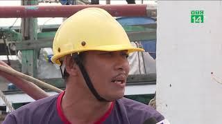 Quá tải tại âu thuyền tránh bão lớn nhất Đà Nẵng| VTC14