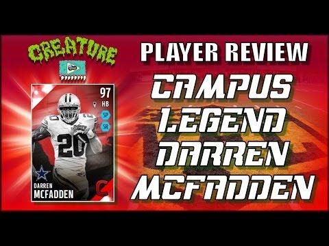 Campus Legend Darren McFadden Review - MUT Madden 16 - Better Than Bo?