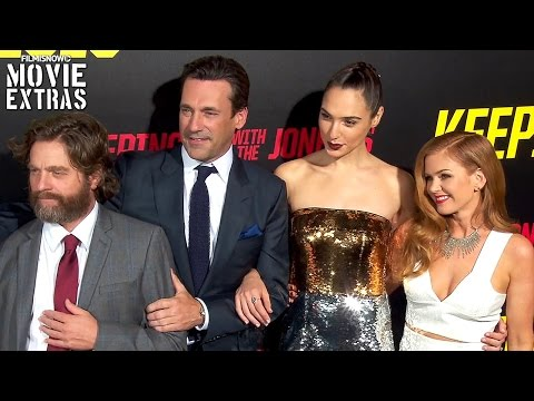 Keeping Up with the Joneses | NYCC Movie Premiere Interviews with Cast and Director