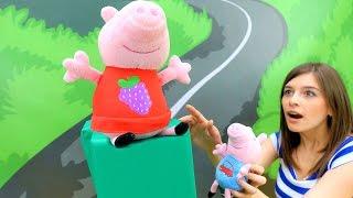 ToyClub шоу - Свинка Пеппа. Ищем игрушки