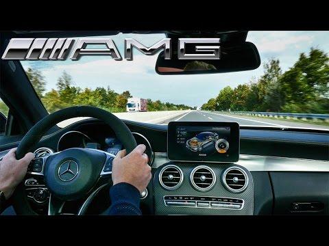 2017 Mercedes AMG C63 Coupe Edition1 AutoBahn Acceleration Drive
